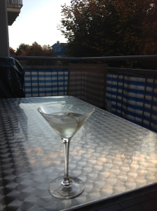 Martini sundowner... don't mind if I do!