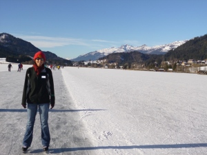 ice skating austria