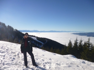 Koralpe hiking winter