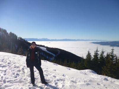 Koralpe hiking winter