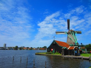 The windmills at Zaanse Schans