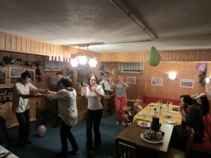 And we had a crazy Austrian party to celebrate