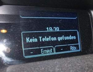 Car talks to phone