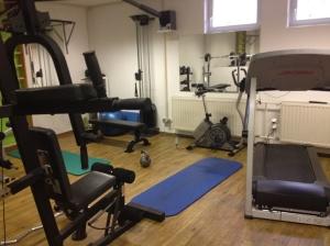 fitness room work