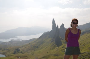 Man of Storr! It was that warm I actually got a bit sweaty!