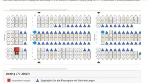 aeroplane seating plan
