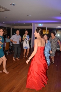 Ripping up the dance floor