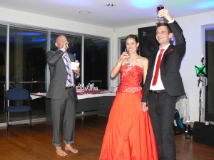A short wedding toast