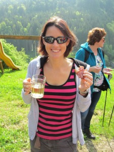 Cider at 8am... and schnapps? Ready!