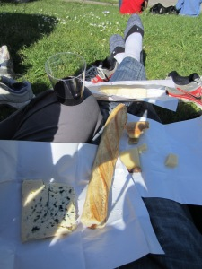 A must-do in Paris - cheese and wine picnic