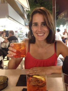 A trip to Lignano isn't complete without an Aperol spritz!
