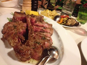 Mouth-watering, t-bone goodness!