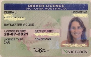 Best licence photo I ever had... and they took it from me!