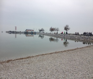 Gloomy (at this time of year) but stunning Lake Neusiedl