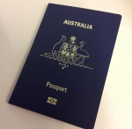 New Austrlian passport