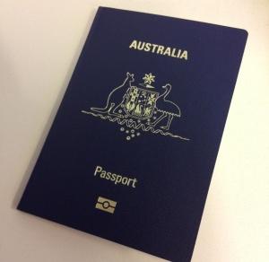 New Austrlian passport