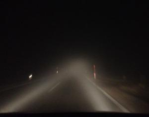 fog lights dark