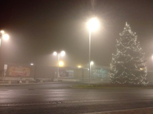 Wolfsberg in fog