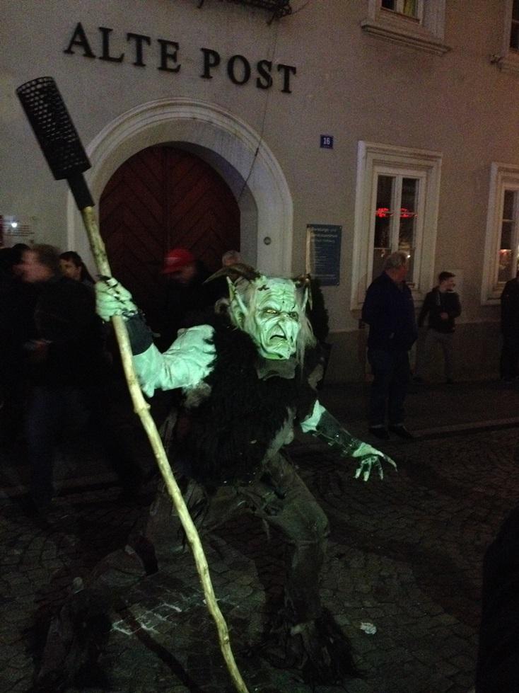 Krampus - Austrian Christmas tradition