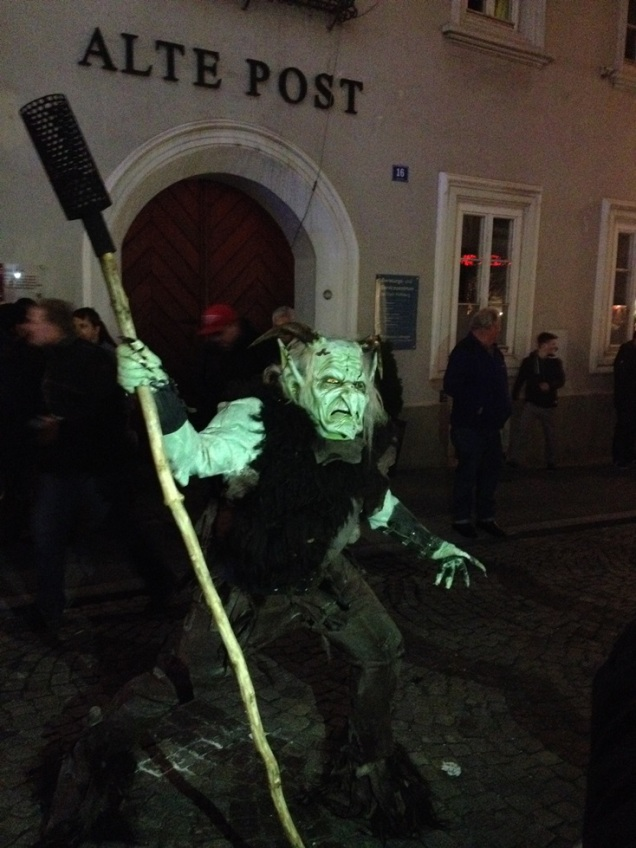 Krampus - Austrian Christmas tradition