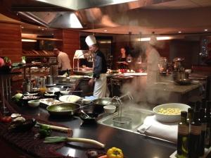 Reiters show kitchen