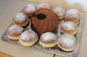 Krapfen in the morning