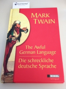 Mark Twain the awful German language