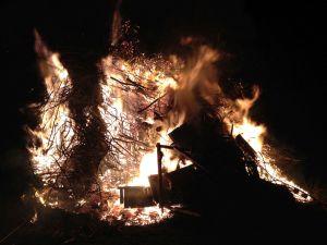 Easter fire austria