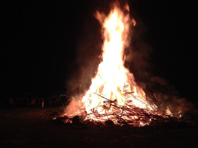 Easter bonfire Austria