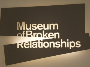 Zagreb - museum of broken relationships
