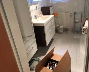 moving out bathroom