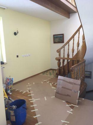 Stair room before