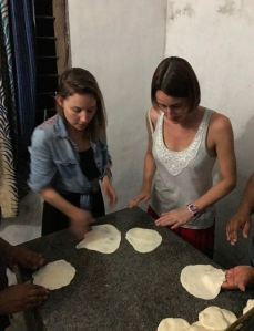 Southern Indian food cooking class Parotta