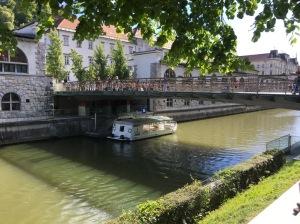 Ljubljana river