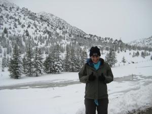 Snow in Turkey
