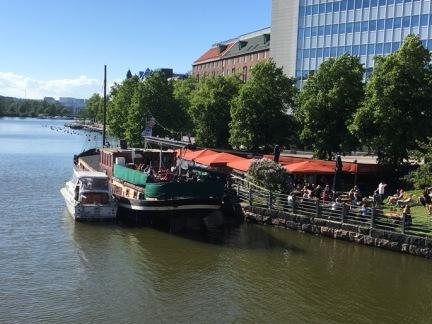 Helsinki boat bar
