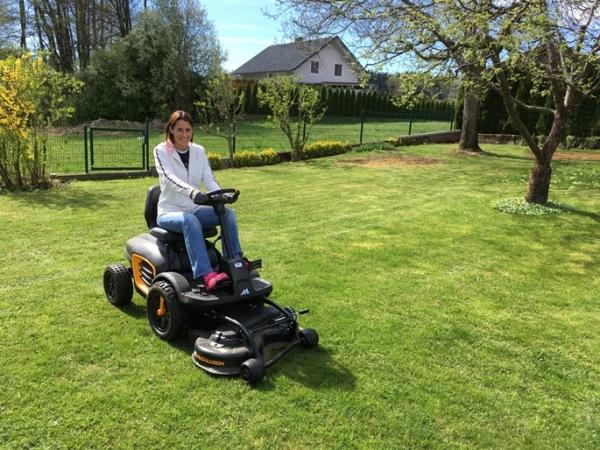 garden austria mowing
