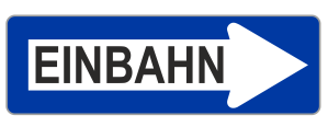 Sign Austria one way