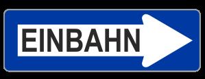 Sign Austria one way