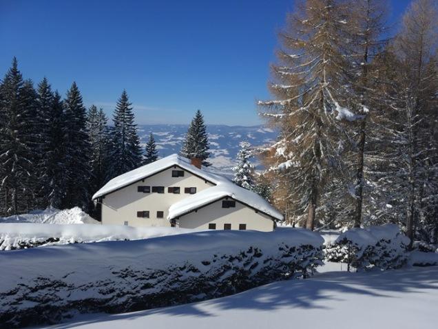 winter Austria snow