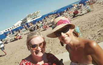 beach lignano italy
