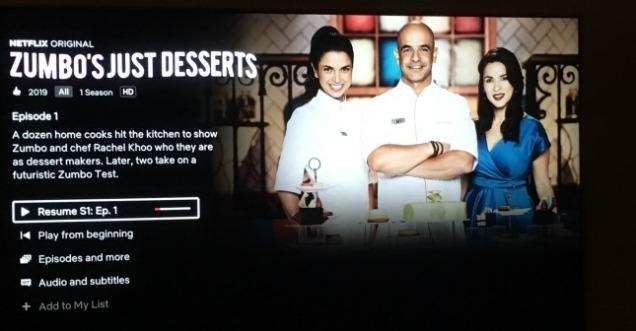 Netflix Zumbo's Just Desserts