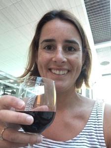 Business Class wine