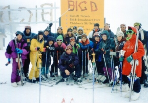 not sporty skiing Big D Mt Hotham