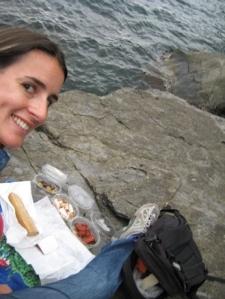 Cinque Terre picnic