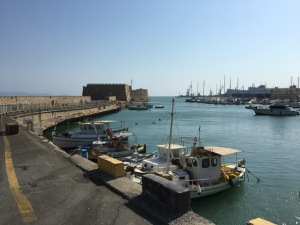 port heraklion, crete