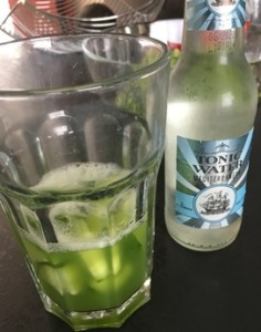 gin and tonic with cucumber juice