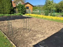 garden ready for planting