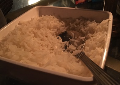 India Delhi belly rice