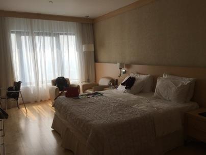 Hotel room, le meridien, Delhi